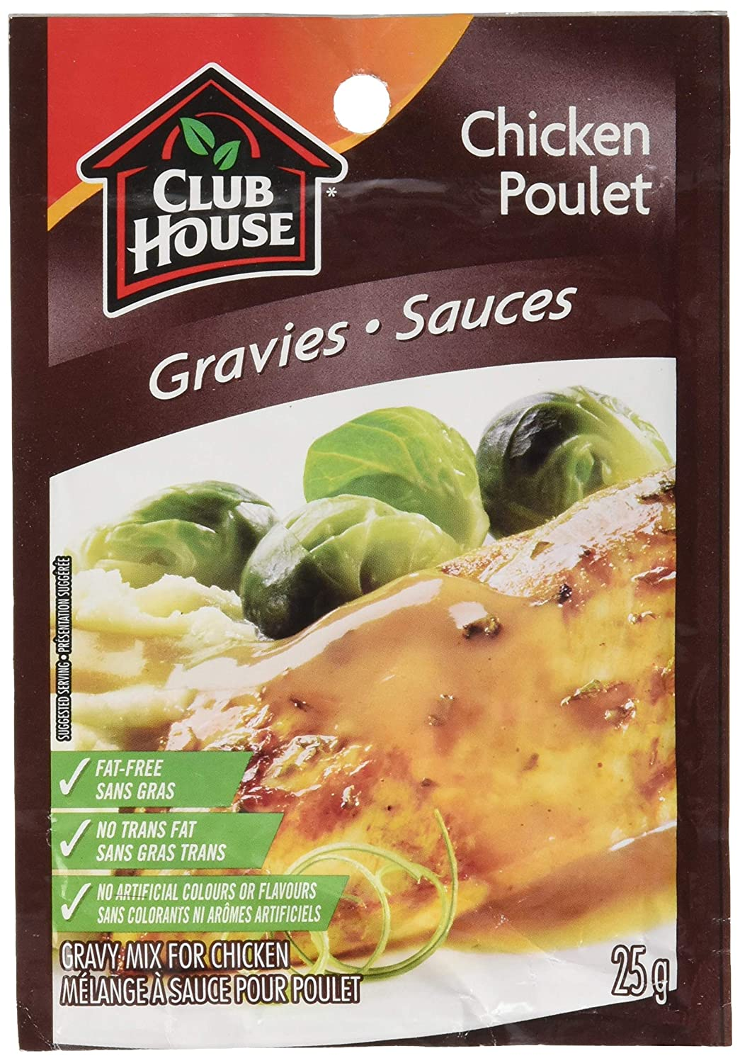 Club House, Dry SauceSeasoningMarinade Mix, Chicken Gravy, 25g