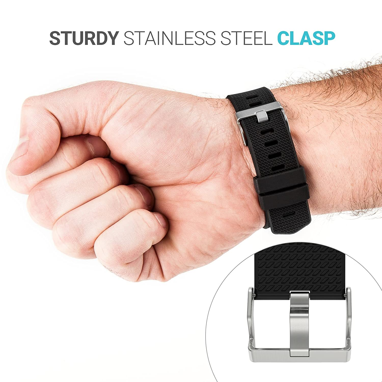 Yousave Accessories/®/®/®/® Fitbit Charge2 Cinturino Sostituzione Braccialetto Sportivo in Silicone per Il Fitbit Charge 2 Disponibile in 15 Colori