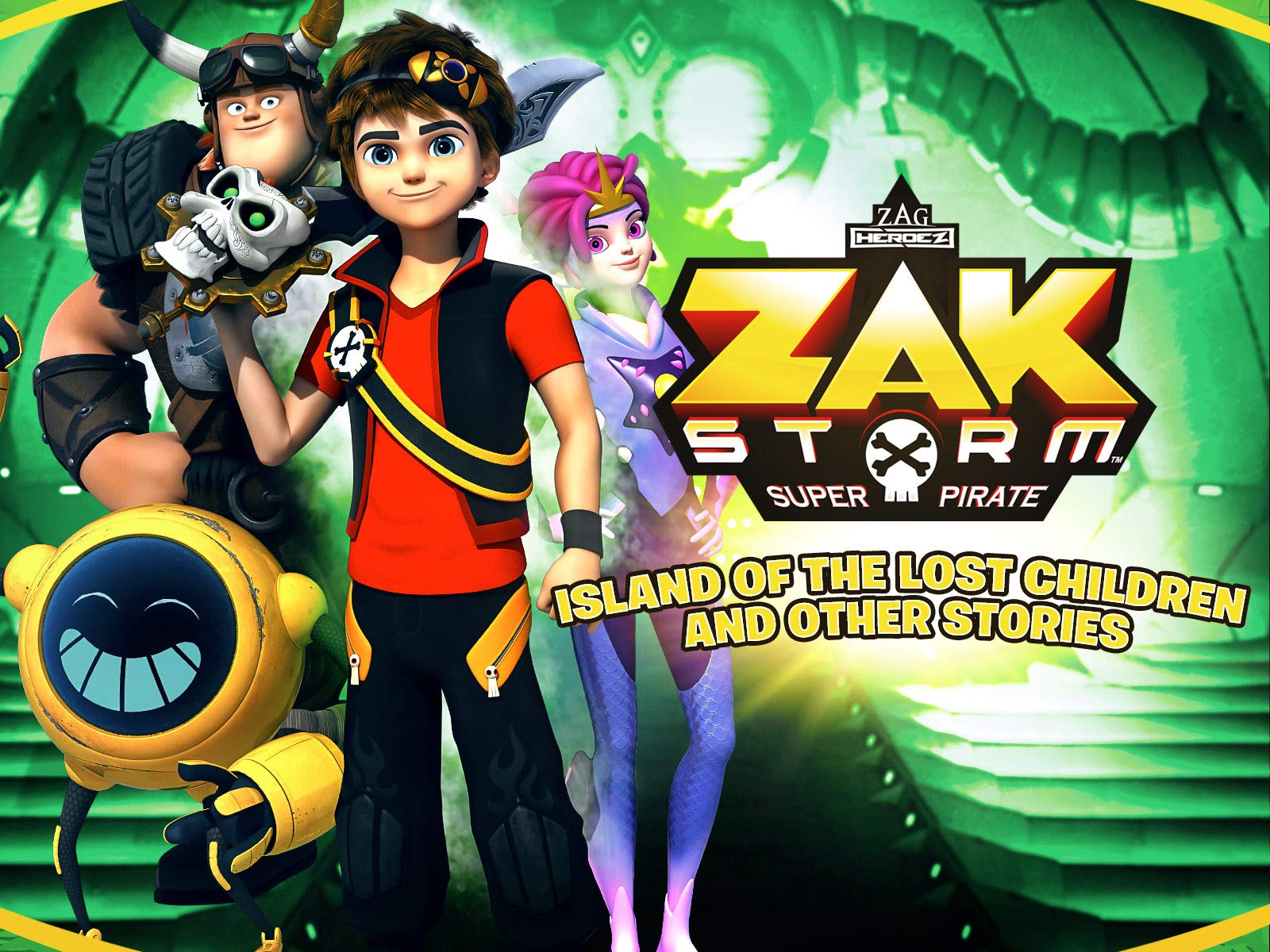 Zak Storm on Amazon Prime Video UK