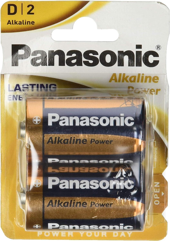 Panasonic 2272 Alkaline Power Batterie Lr20 D Mono Elektronik