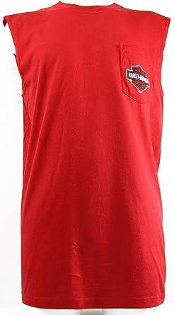 Harley-Davidson - Camiseta de tirantes - para hombre rojo rojo large