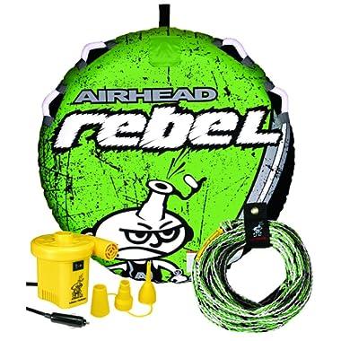 AIRHEAD REBEL Towable Tube, Rope and Pump Kit
