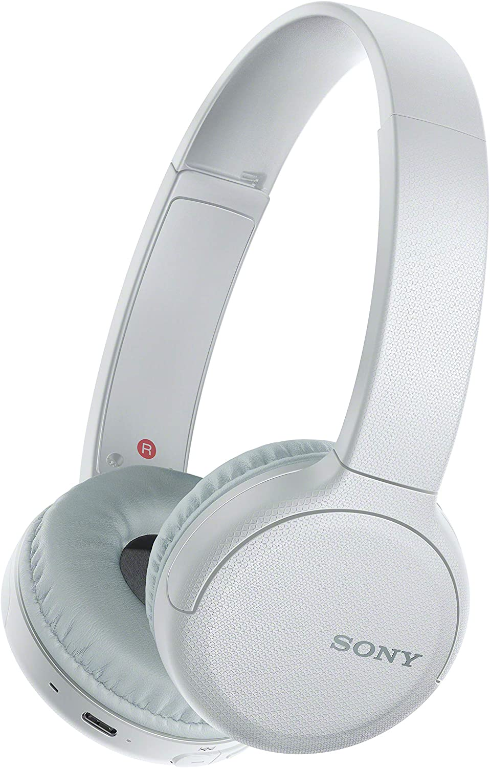 Sony WH-CH510 Wireless On-Ear Headphones, White (WHCH510/W) (Amazon Exclusive)