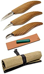 Wood Carving Tools Set - Chip Carving Knife Kit - Whittling Knife Set Whittling Tools Wood Carving Wood for Beginners (Chip Carving Knife Kit)