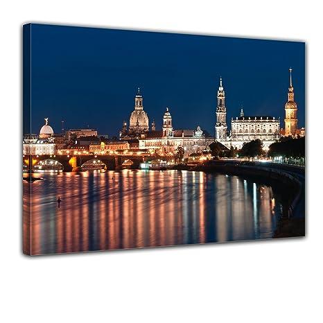 Leinwandbild Kunst-Druck 100x50 Bilder Kunst Altstadt