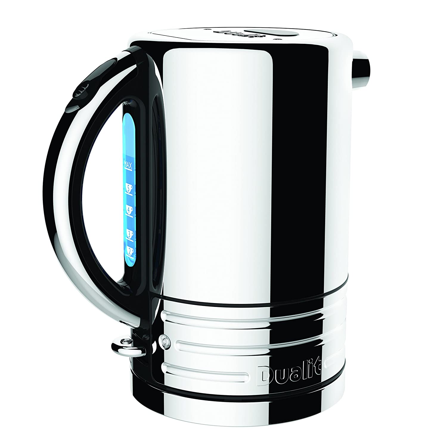 Amazoncom Dualit 72955 Design Series Kettle Black And Steel