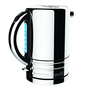 Dualit 72955 Design Series Kettle, Black and Steel