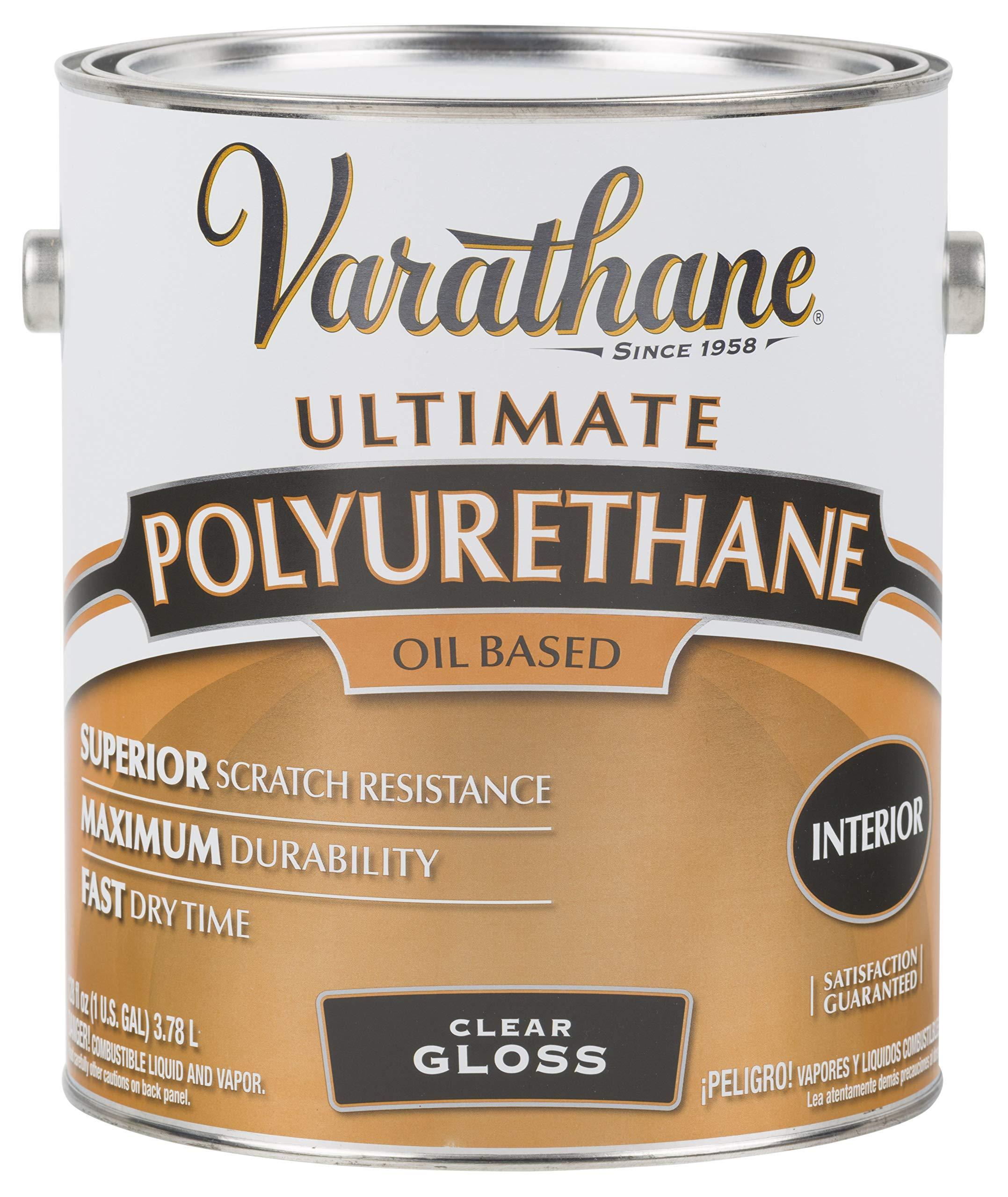 RUST-OLEUM 9032 Varathane Gallon Gloss Interior Polyurethane