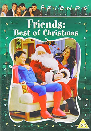 Friends Christmas Episodes.Friends The Best Of Christmas Dvd Amazon Co Uk Courtney