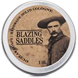 Blazing Saddles Solid Cologne (the sexiest cologne ever) - Put the Wild West in your pocket with the smell of leather, gunpowder, sandalwood, and sagebrush (Men's or Women's Cologne)
