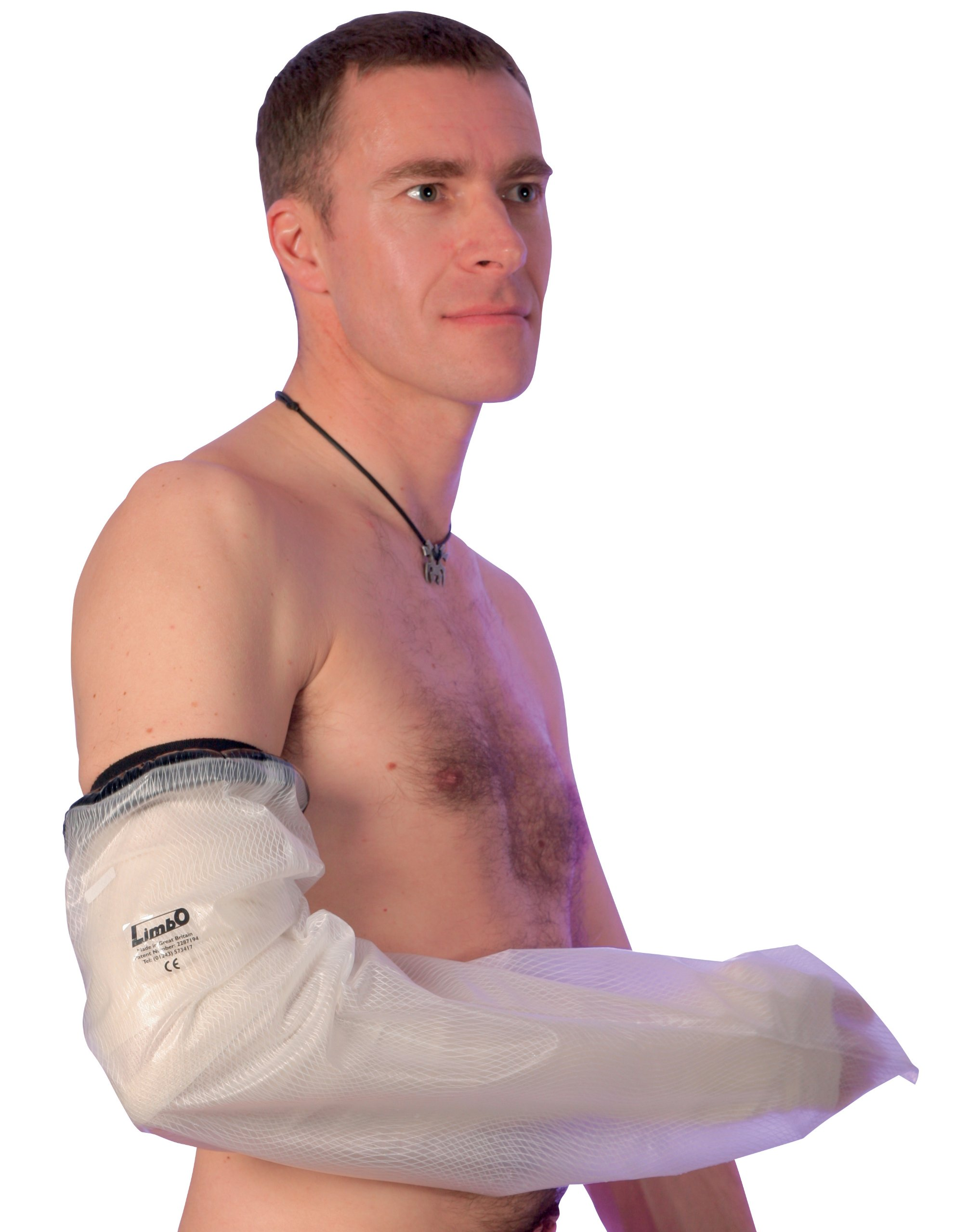 Limbo Waterproof Cast and Dressing Protector - Full Arm Standard