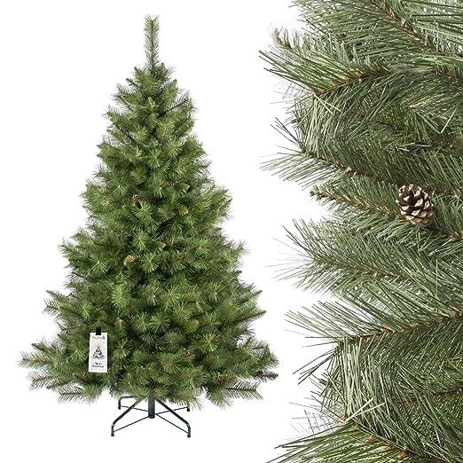 357 opinioni per FAIRYTREES Albero di Natale artificiale ABETE SCANDINAVO, materiale PVC, vere