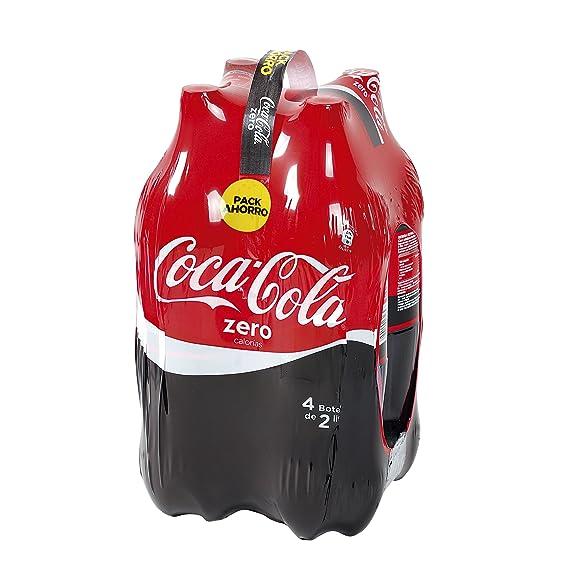 COCACOLA - Coca Cola Zero Pack 4 Botellas 2 Lt