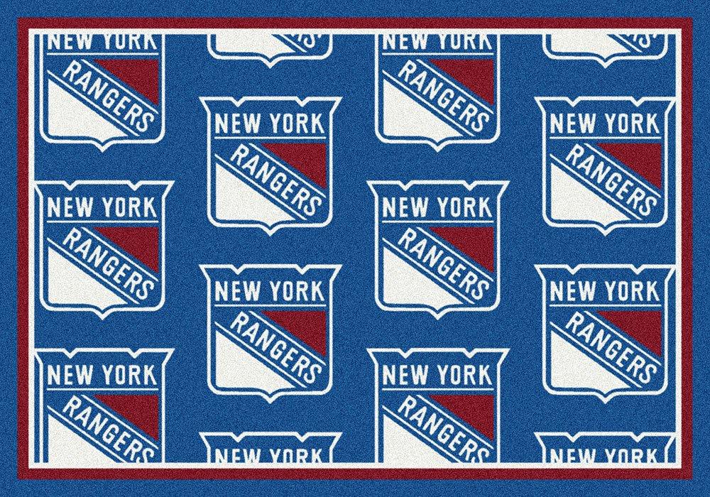 NHLチームノベルティRugラグサイズ: 10 ' 9
