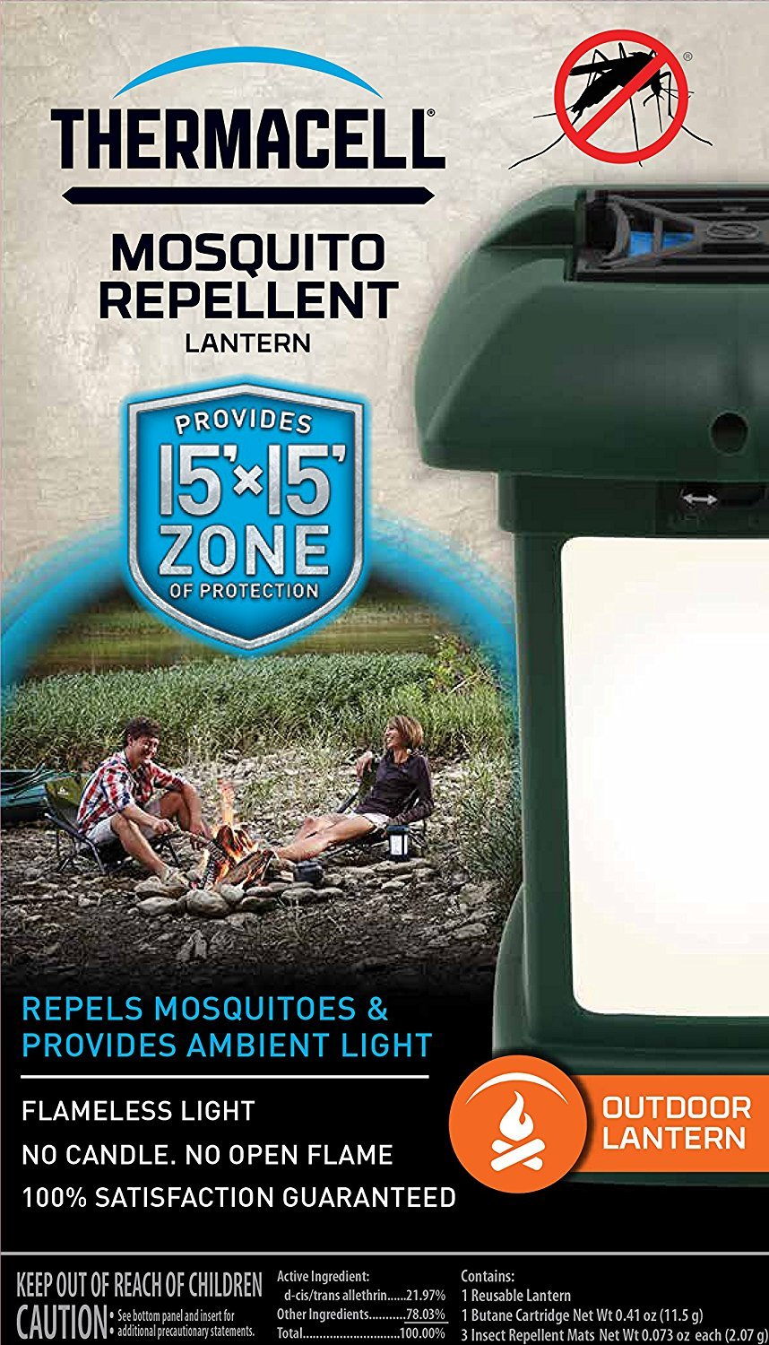 ThermacellMR-9L OutdoorMosquitoRepellers/Lanterns (6) & Twelve Refill Packs Bundle (72 Mats, 24 Cartridges) by Thermacell (Image #2)