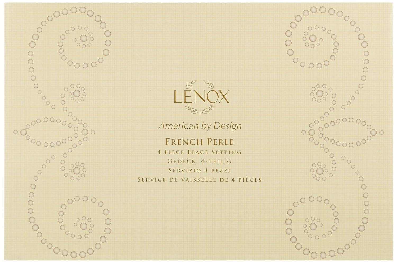 Lenox 65-Piece French Perle Flatware Set 829739