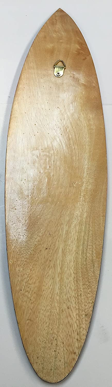 Amazon.com: Tiki Hand Carved Surfboard Wall Hanging Decoration ...