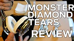 Amazon.com: Monster Diamond Tears Audífonos de ...