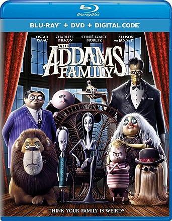 Amazon.com: The Addams Family (2019) [Blu-ray]: Oscar Isaac ...