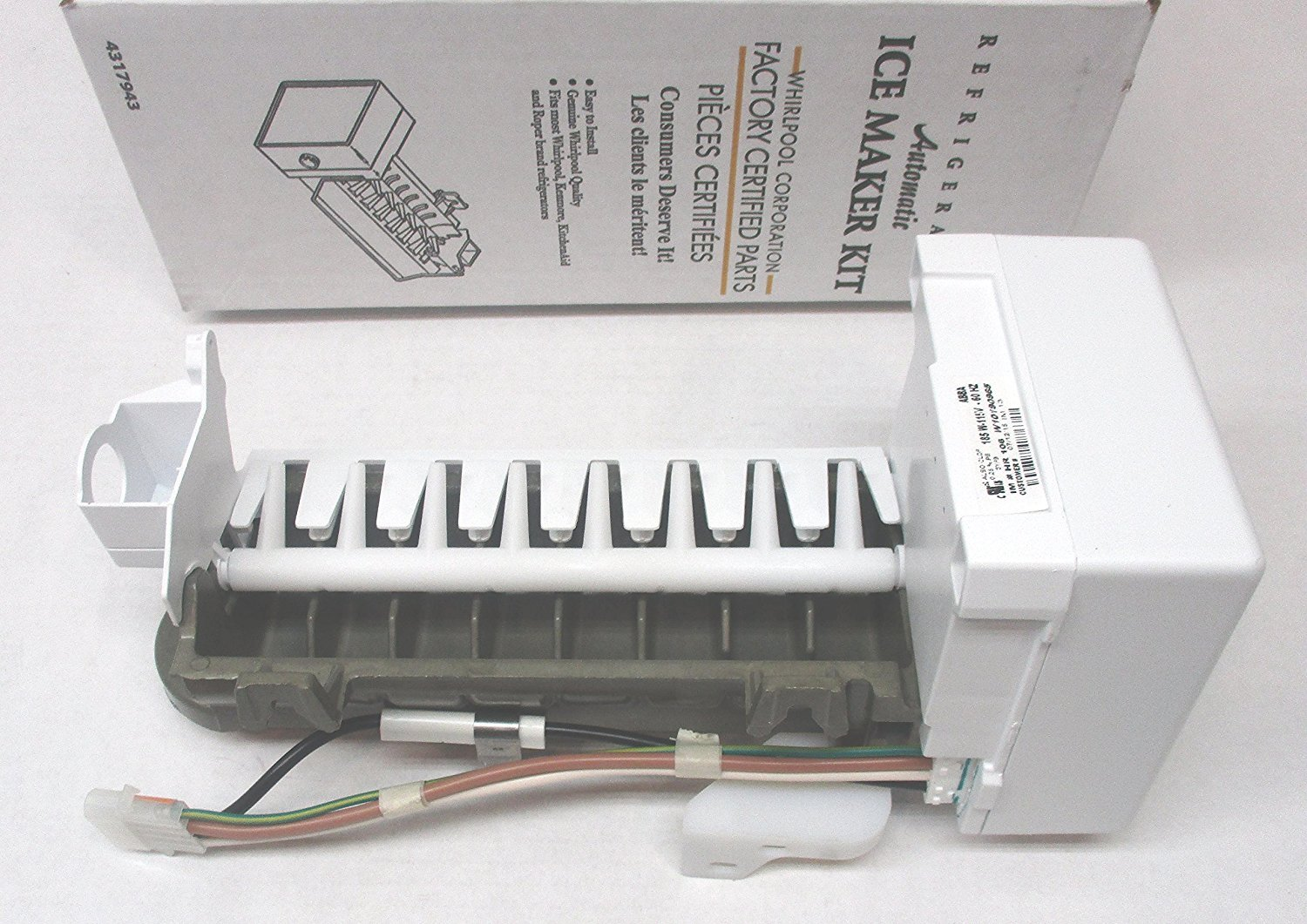 Amazon.com: OEM FACTORY ORIGINAL GENUINE FSP WHIRLPOOL KENMORE MAYTAG ICE  MAKER KIT (Replaces these part #'s - 4317943, AP2984633, 1857, 4210317,  4211173, ...
