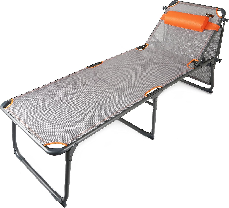 Antracita//Naranja One Size Portal Adultos Kevin Camilla de Camping