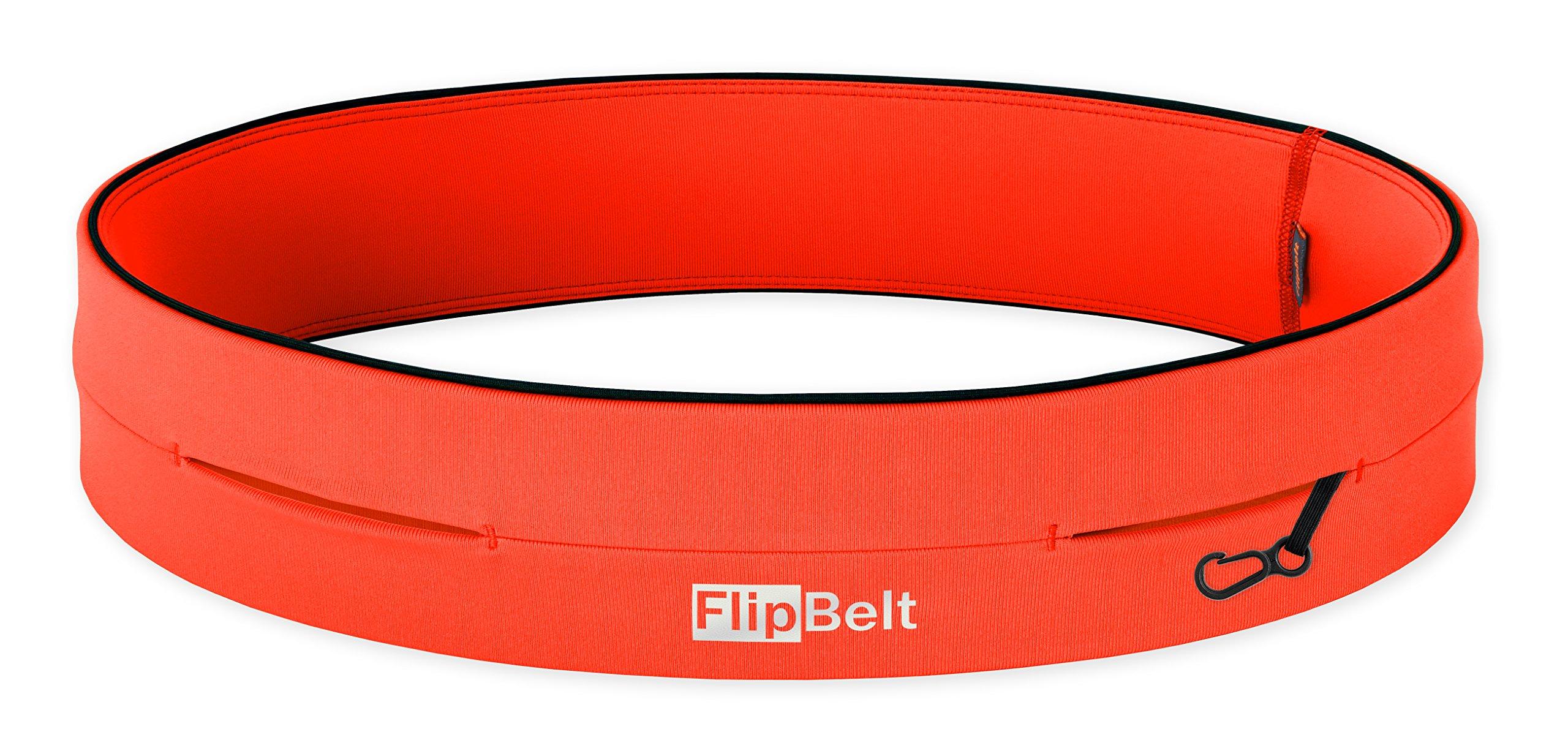 FlipBelt Level Terrain Waist Pouch, Neon Punch, X-Small/22-25