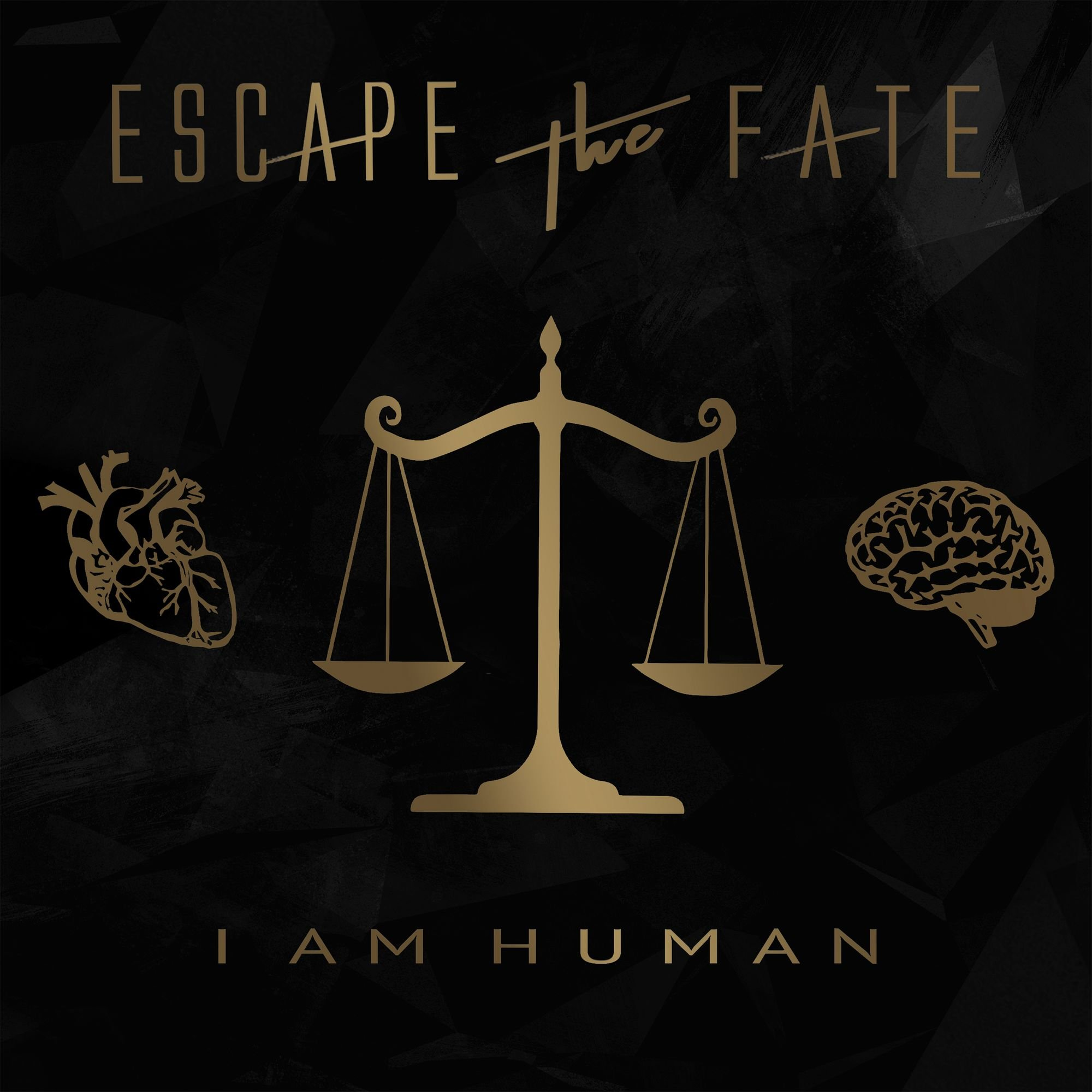 Vinilo : Escape the Fate - I Am Human (LP Vinyl)