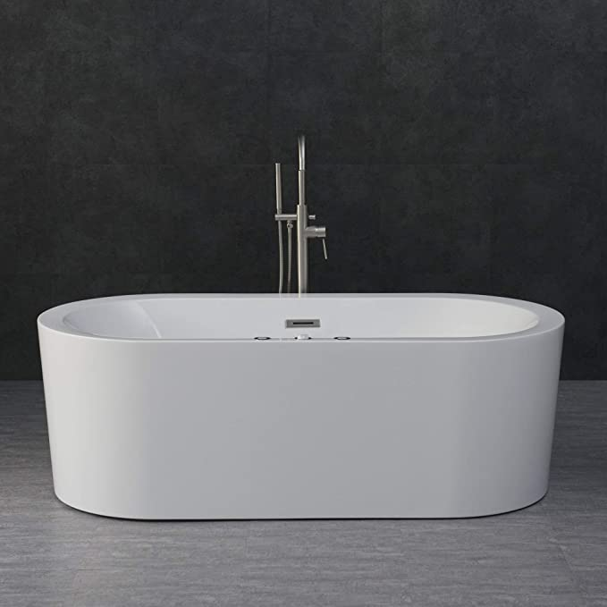 "Best Freestanding Tubs: Woodbridge 67"" x 32"" Whirlpool"