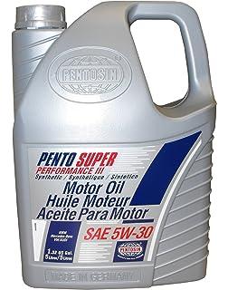 Pentosin 8078206-C Pento Super Performance III 5W-30 Synthetic Motor Oil - 5