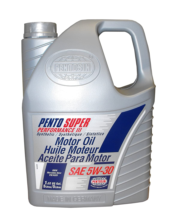 Amazon.com: Pentosin 8078206-C Pento Super Performance III 5W-30 Synthetic Motor Oil - 5 Liter (Case of 3): Automotive