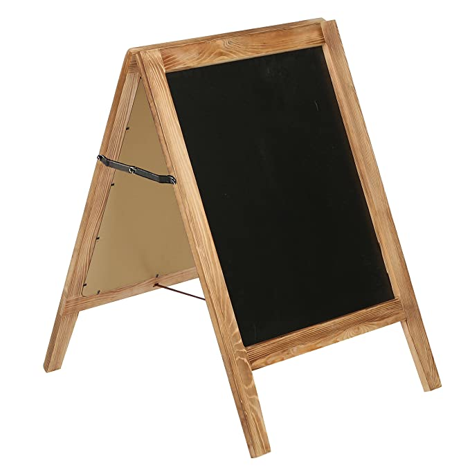 30 cm de altura madera a-frame - Chalkboard sign, sándwich ...