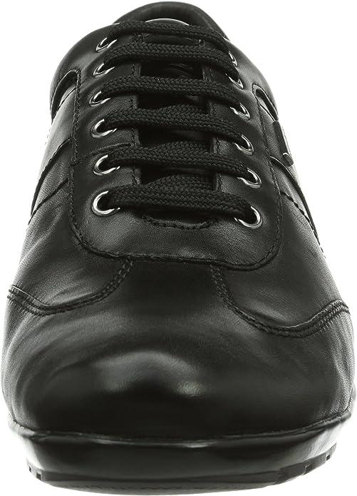 Geox u symbol b abx b scarpe oxford uomo amazon shoes neri