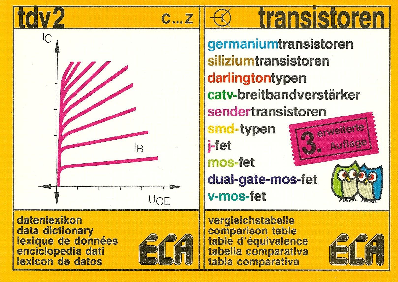 Tdv 2 Transistors 9783881090292 Books Dual Gate Mosfets
