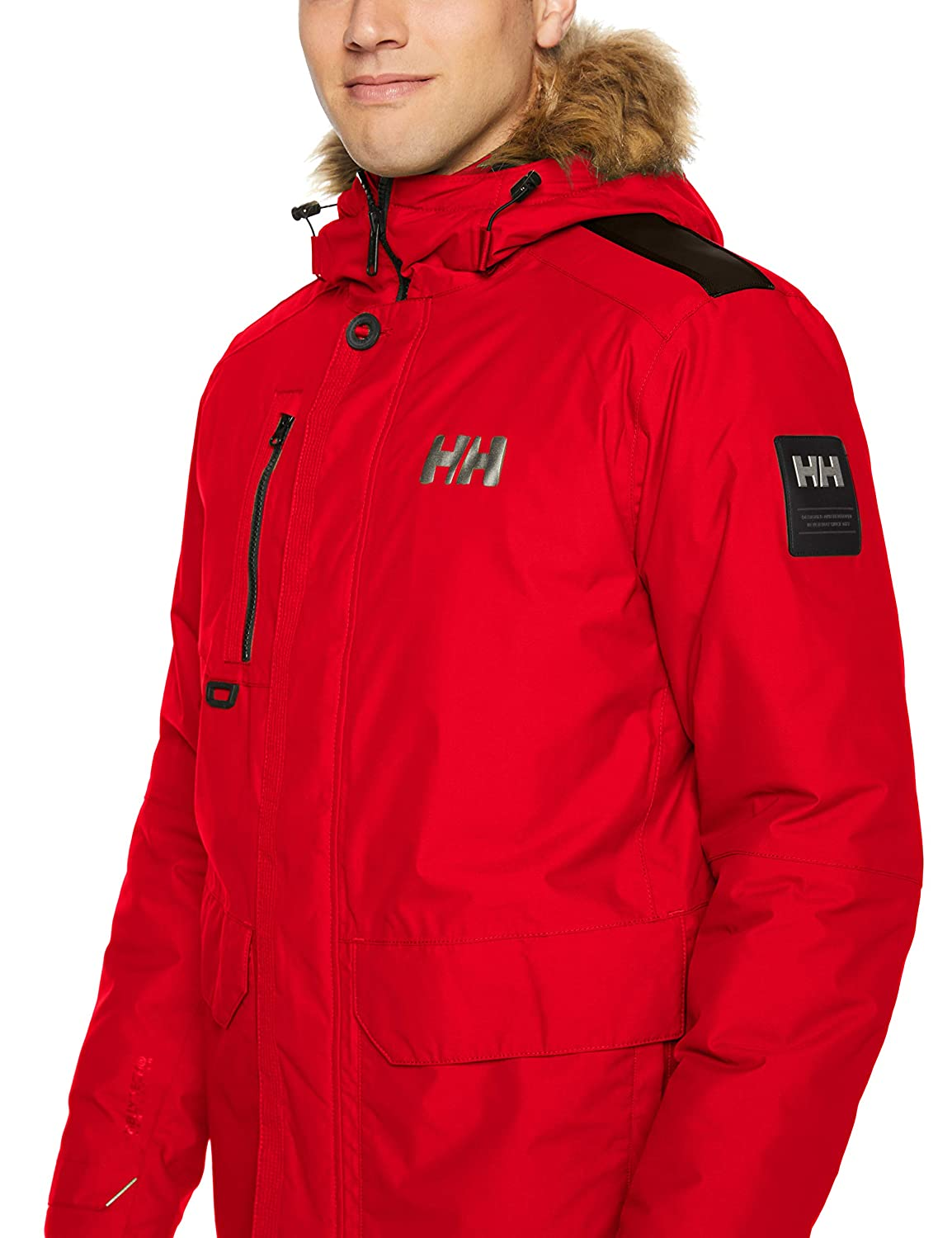 Helly Hansen Parka Svalbard pour Homme Rouge (Rojo 111)