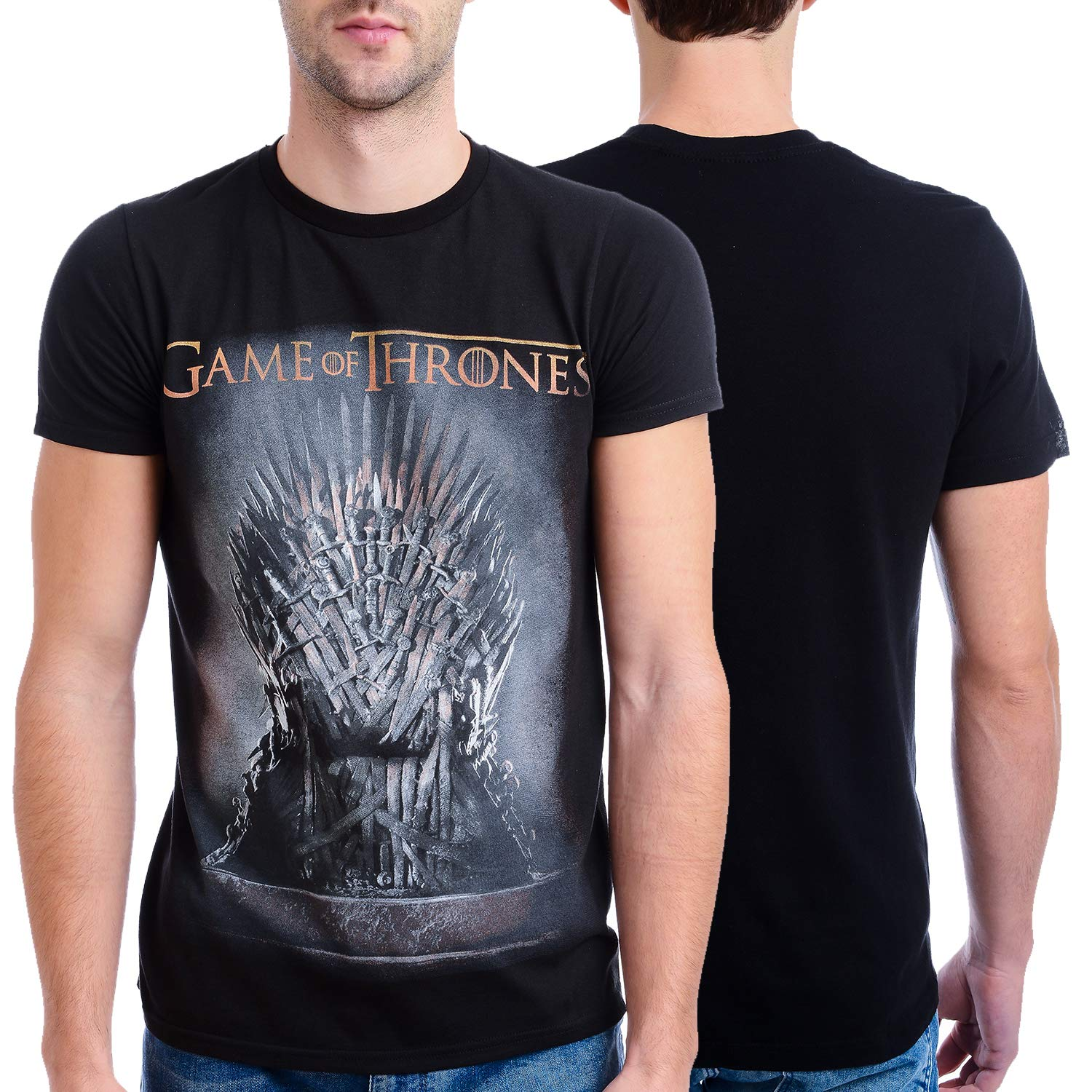 ccd9e3107 Amazon.com: HBO'S Game of Thrones Men's Throne T-Shirt: Clothing