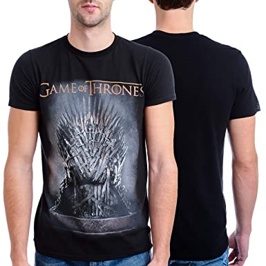 2ba2b6574 Amazon.com: HBO'S Game of Thrones Men's Throne T-Shirt: Clothing