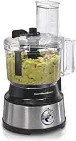 Hamilton Beach 10-Cup Food Processor & Vegetable Chopper with Bowl Scraper,