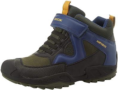 Geox J New Savage Boy B ABX A, Zapatillas Altas para Niños: Amazon.es: Zapatos y complementos