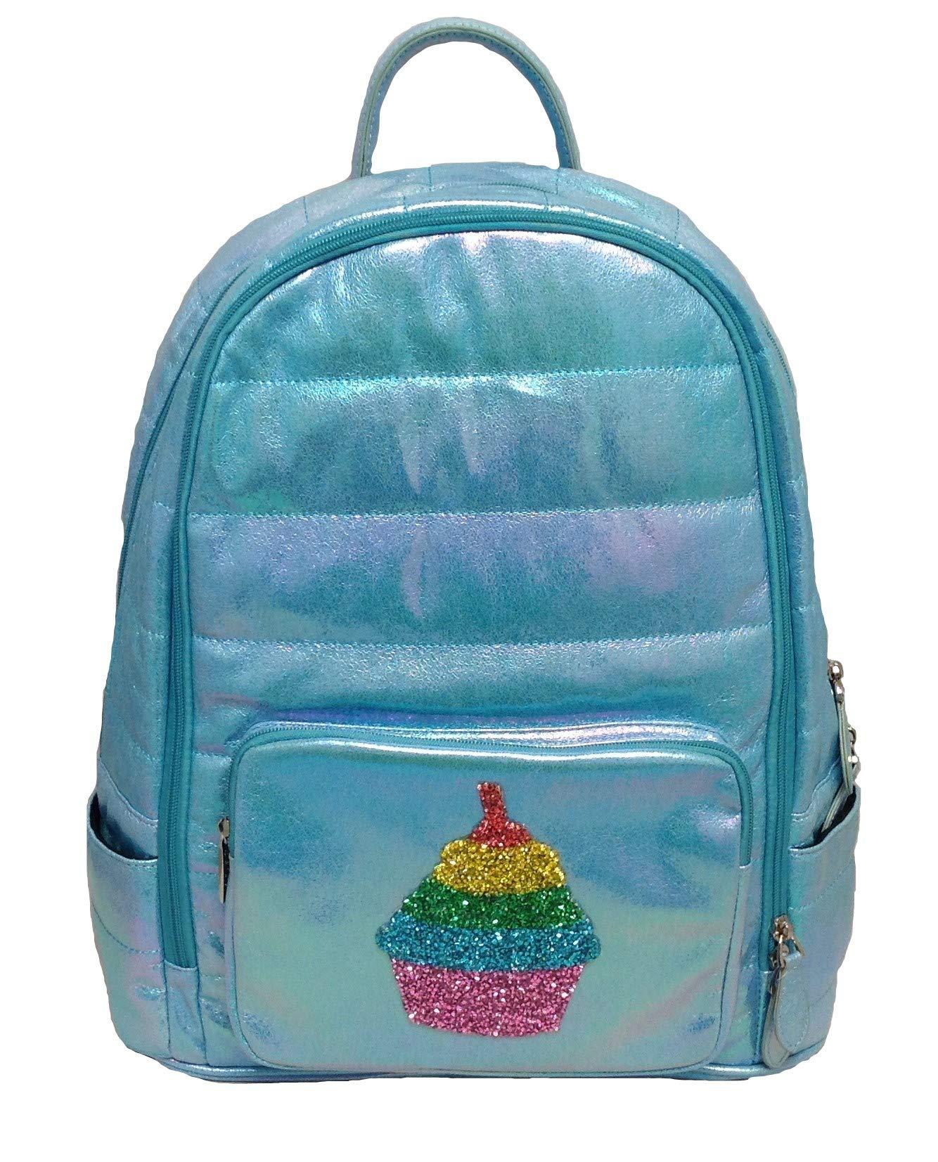 Bari Lynn Girls Backpack (Blue Cupcake) by Bari Lynn