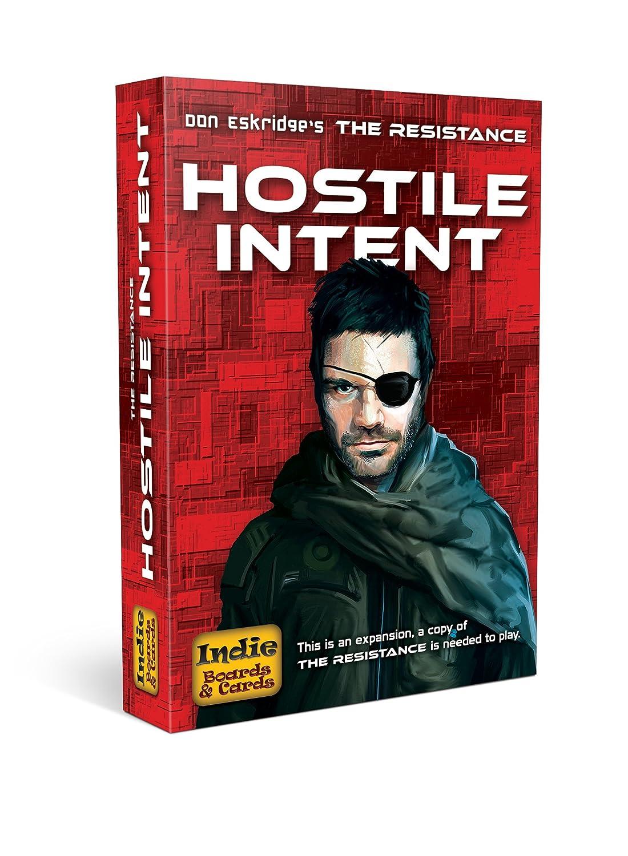 Indie Board & Card la Resistencia Hostil Intenciones Tarjeta de ...