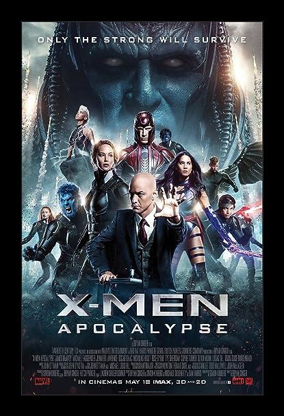 Amazon.com: Wallspace X-Men Apocalypse - 11x17 Framed Movie Poster ...