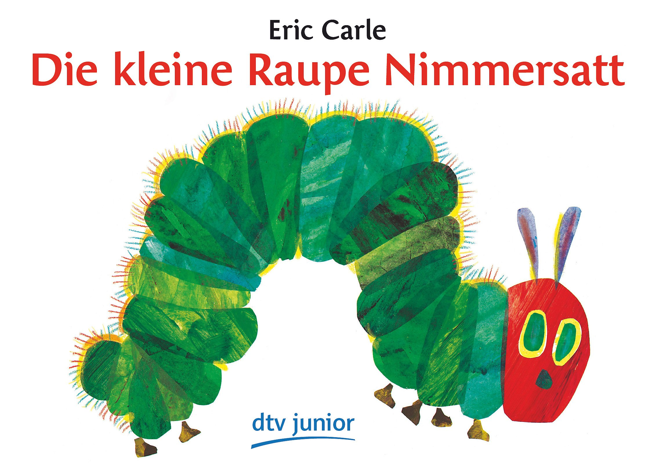 amazon com die kleine raupe nimmersatt the very hungry