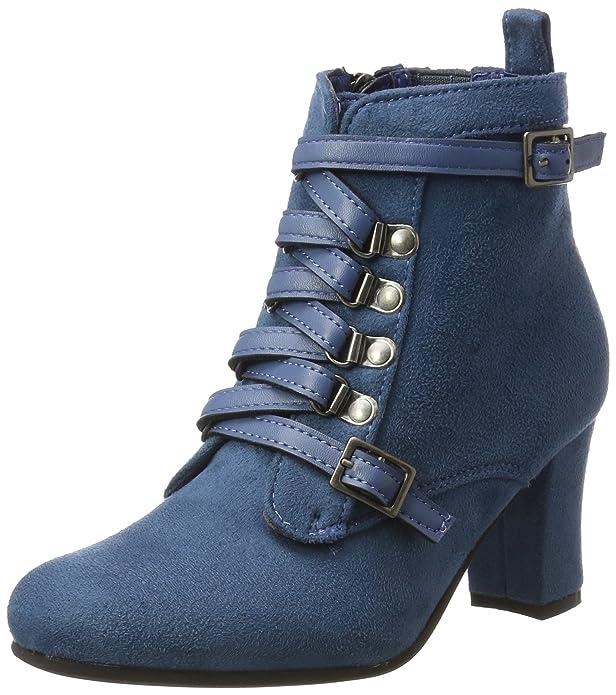 HIRSCHKOGEL 3611506, Botas para Mujer, Azul (Jeans 274), 42 EU