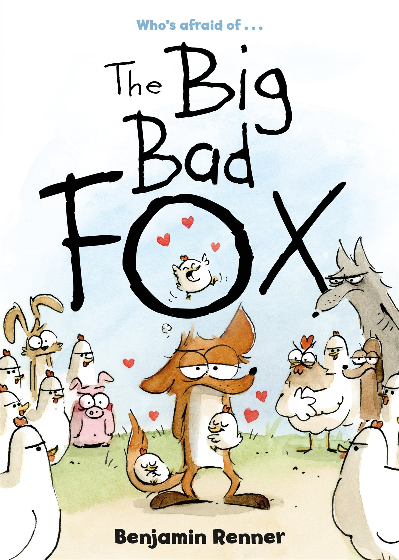 The Big Bad Fox book cover