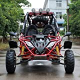 DONGFANG GO-KART Captain DF200GKA 169CC Off Road Sports Buggy Red