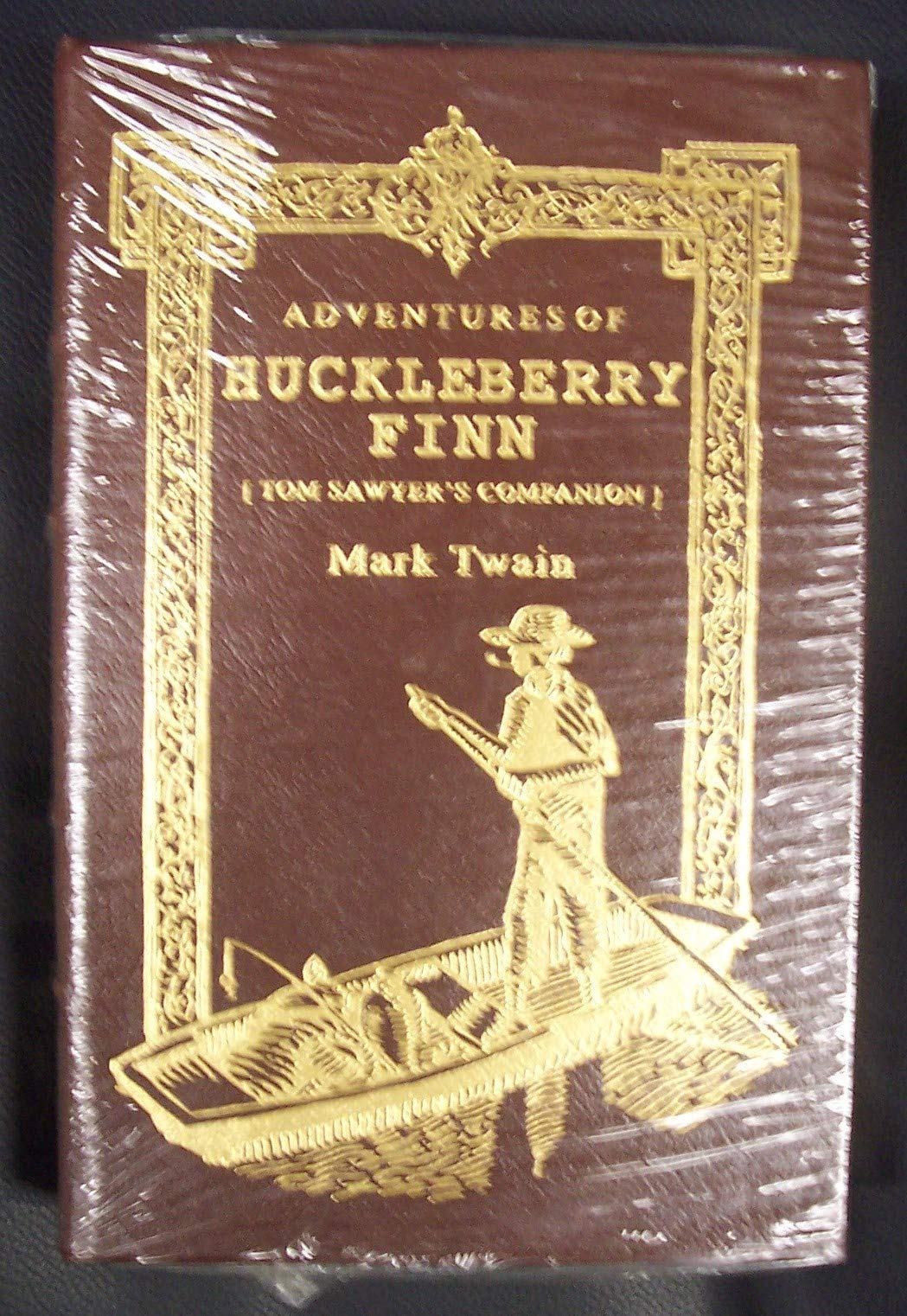 Download The Adventures of Huckleberry Finn: Tom Sawyer's Companion (2008 Brown Leatherbound Hardcover Easton Press Deluxe Limited Collector's Edition Printing, 0677068573) PDF
