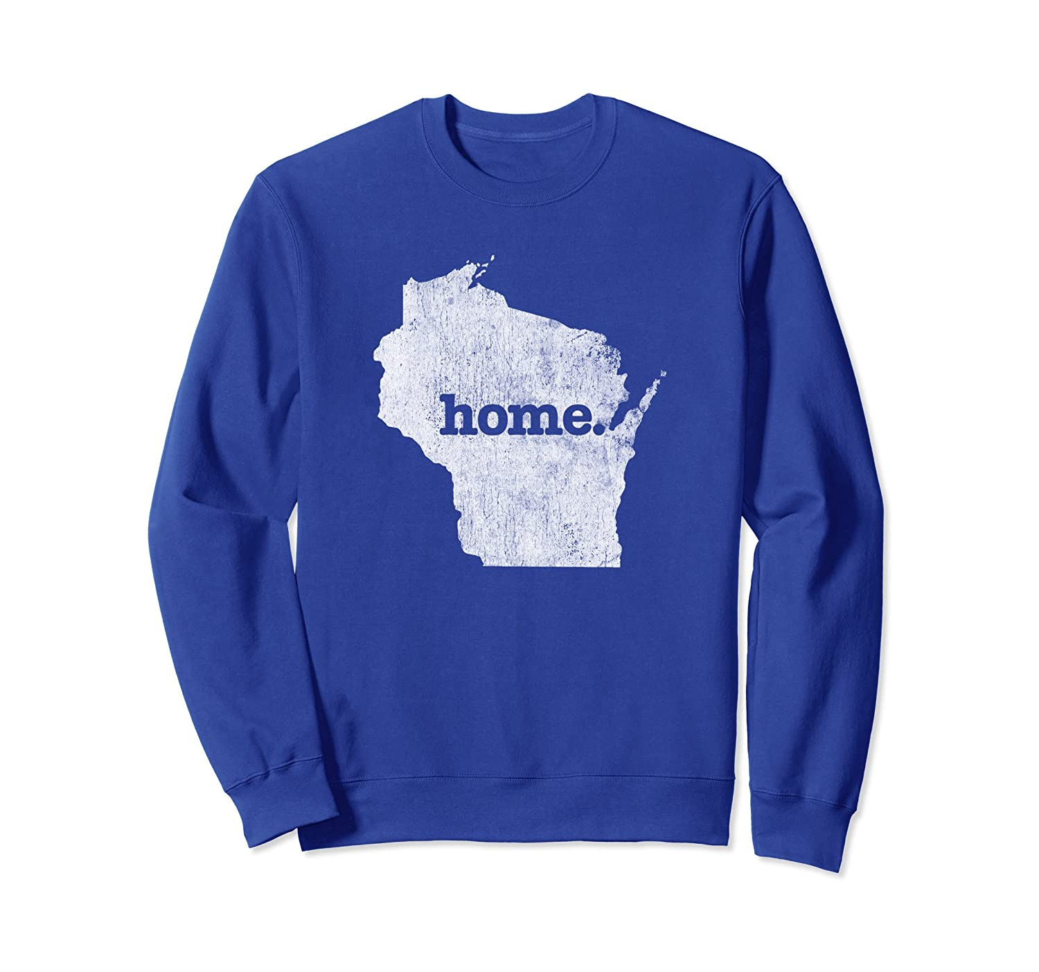 Vintage Wisconsin Home Sweatshirt Wisconsin Sweat Shirt-alottee gift