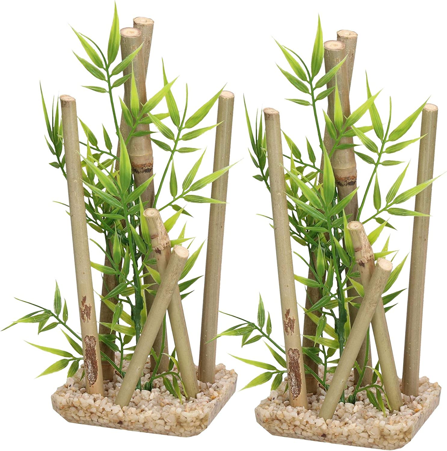 Rosewood 2 Aquatic Aquarium Decor Bamboo Stick Medium Fish Tank Ornaments 9x11x25cm