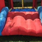 5ee2b47a7aa8 Amazon.com  Little Tikes Inflatable Jump  n Slide Bounce House w ...