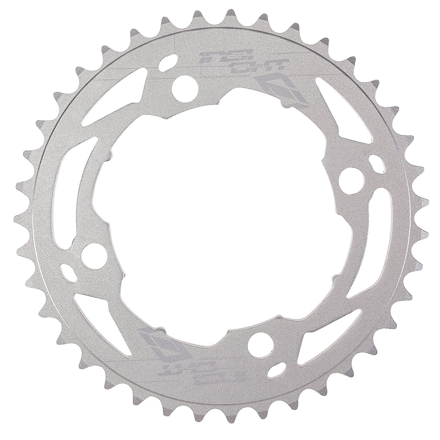 Insight 5-Bolt BMX Chainring 110mm BCD 43T Red